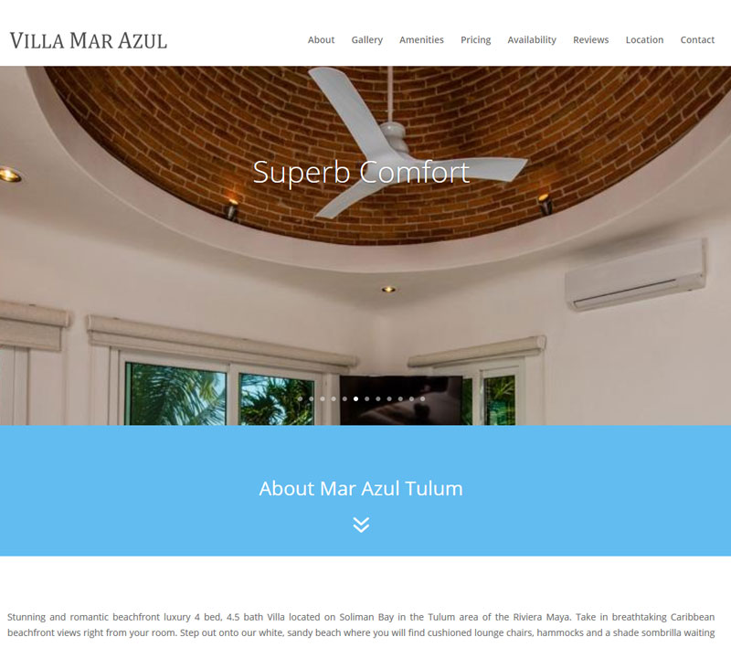 Villa Mar Azul Tulum